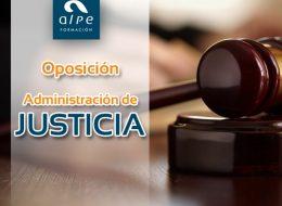 Oposición Administración Justicia - alpe formación
