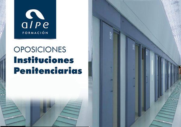 Oposición Instituciones Penitenciarias - alpe formación