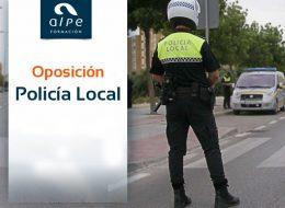 Oposición Policía local - alpe formación