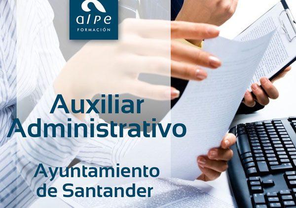 Auxiliar Admnistrativo Ayuntamiento Santander - alpe formación