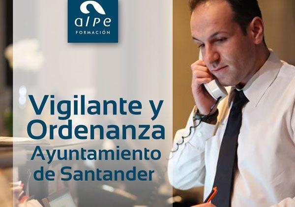 Vigilante y Ordenanza Ayuntamiento de Santander - alpe formación