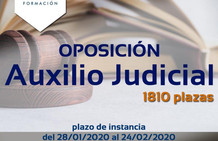 Oposición auxilio judicial-www.alpeformacion.es