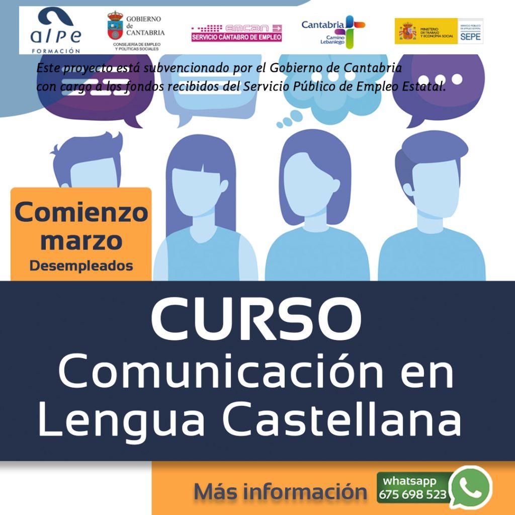 Curso lengua castellana-www.alpeformacion.es
