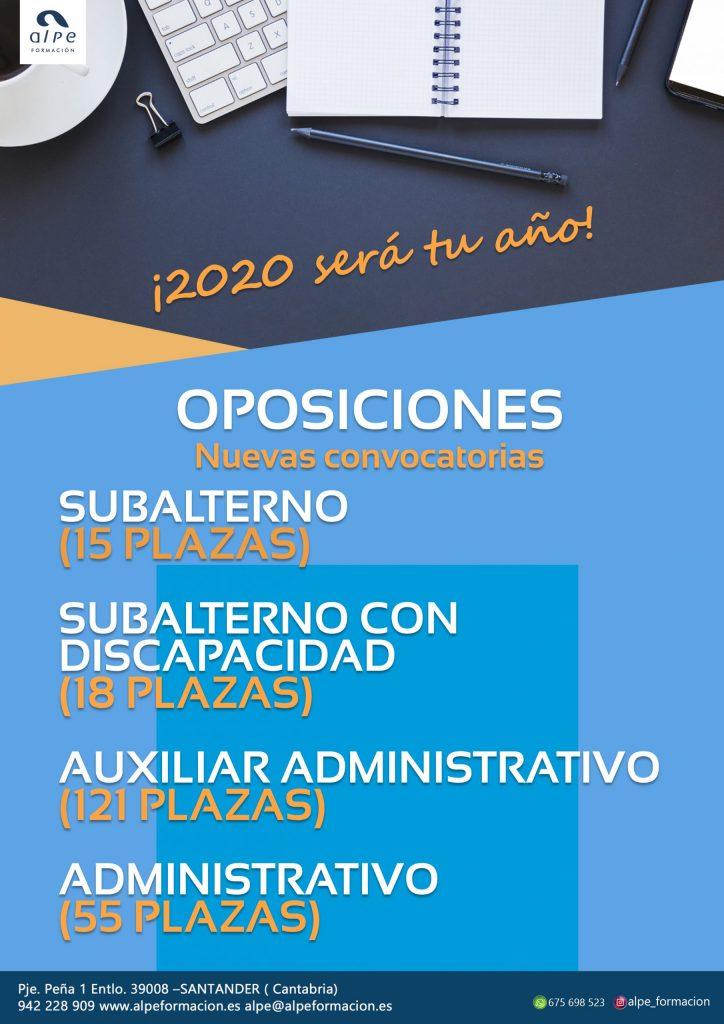 oposiciones 2020 - alpe formación
