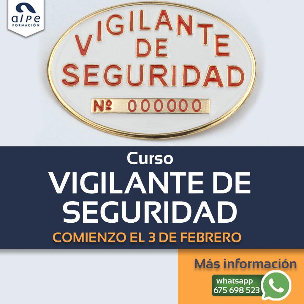 Curso vigilante de seguridad - alpe formación
