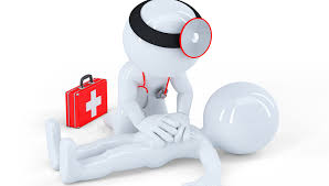 Primeros auxilios y soporte vital básico y desfribilador