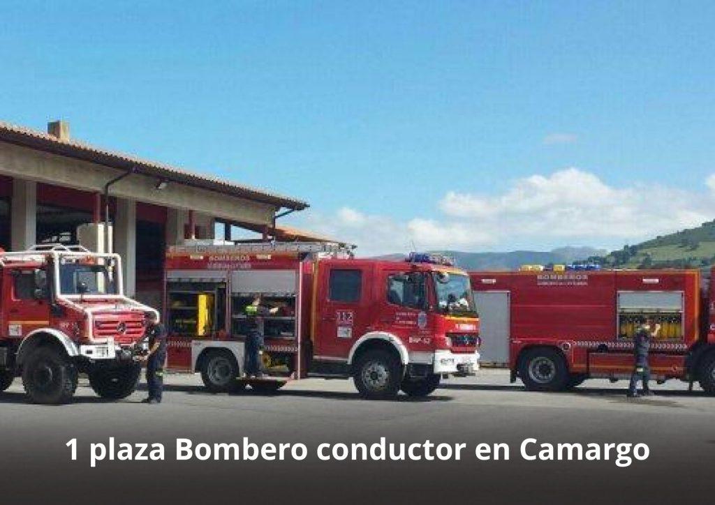 Plaza conductor Bombero-www.alpeformacion.es