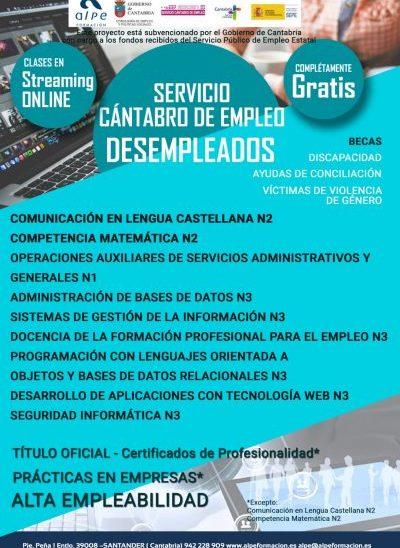 Cursos desempleados-www.alpeformacion.es