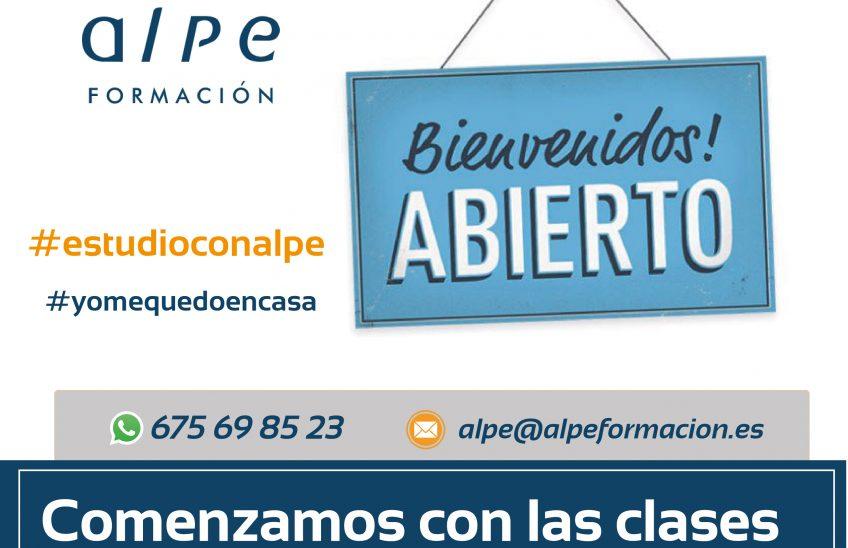 clases streaming online-www.alpeformacion.es