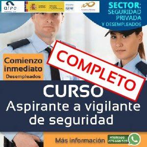 curso aspirante a vigilante de seguridad-www.alpeformacion.es