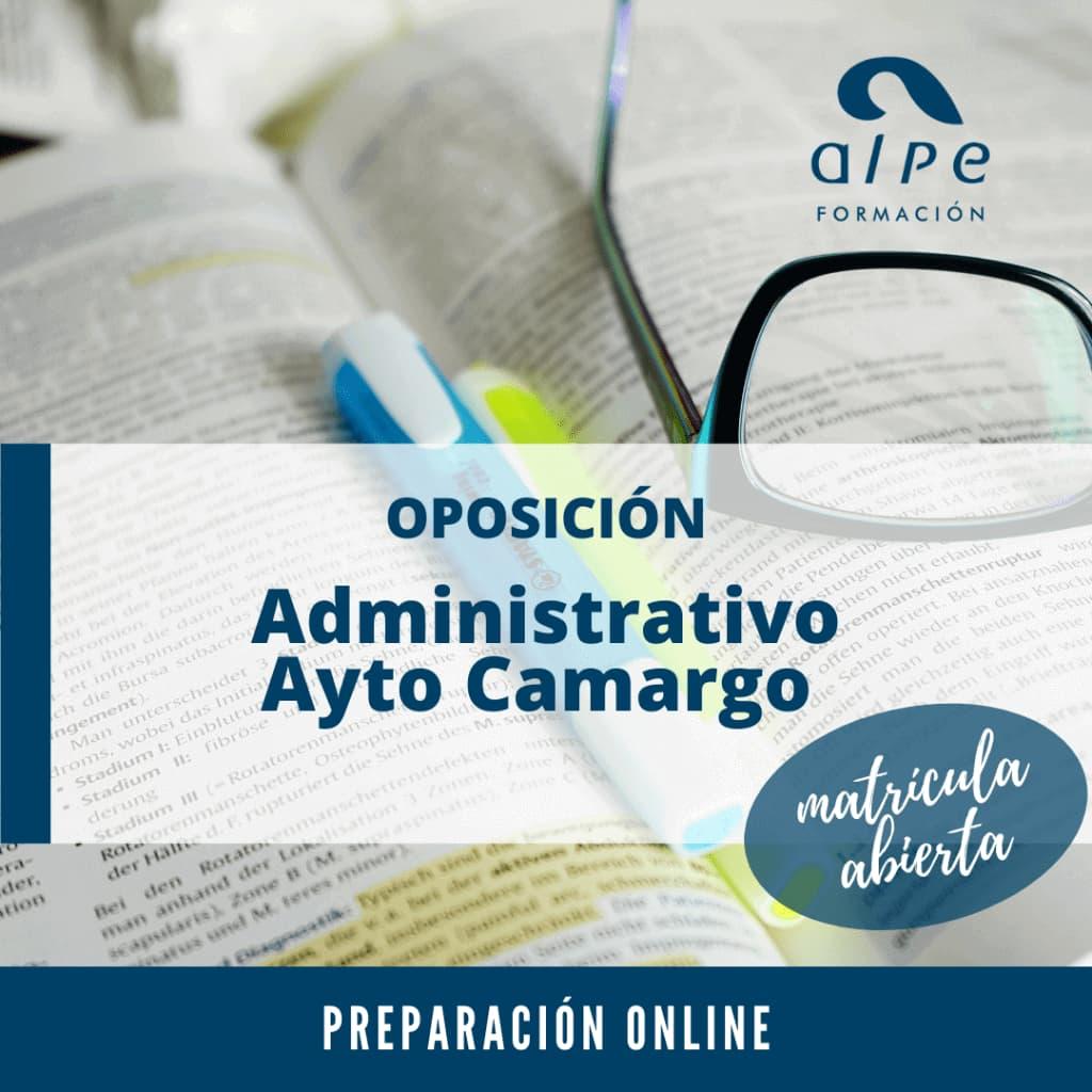 Administrativo Ayuntamiento Camargo