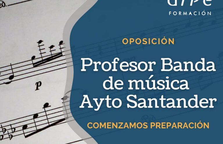 Profesor Banda de música Ayto Santander_ Alpe Formación
