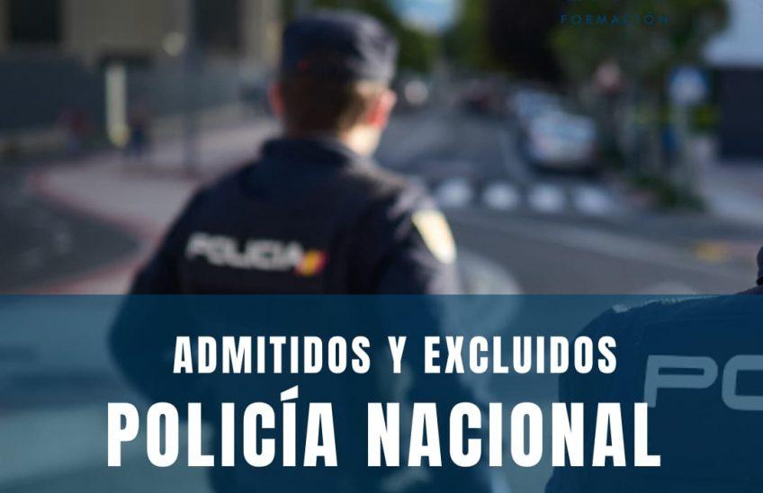 Listas Policía Nacional- Alpe Formación