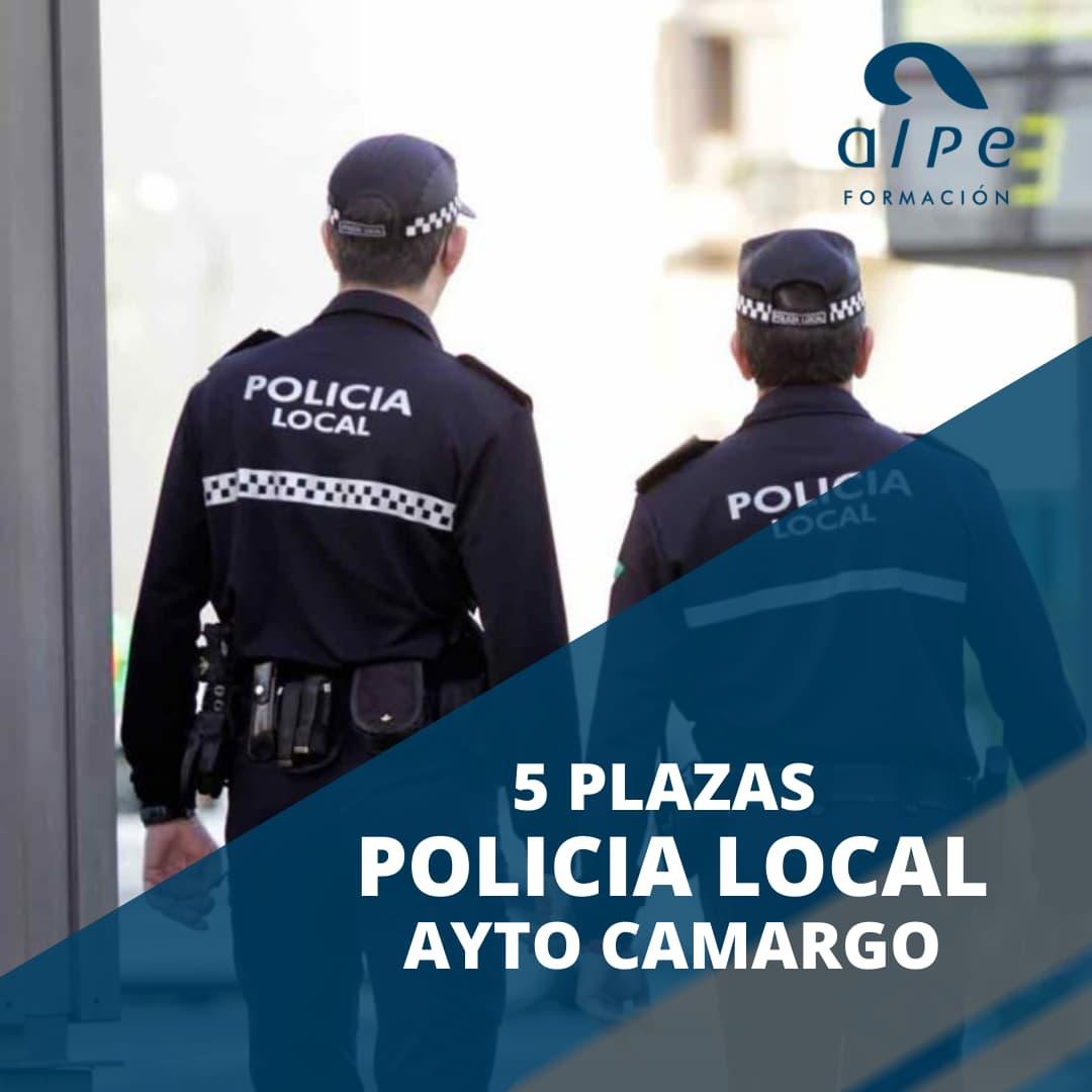 5 plazas Policía Local Ayto Camargo