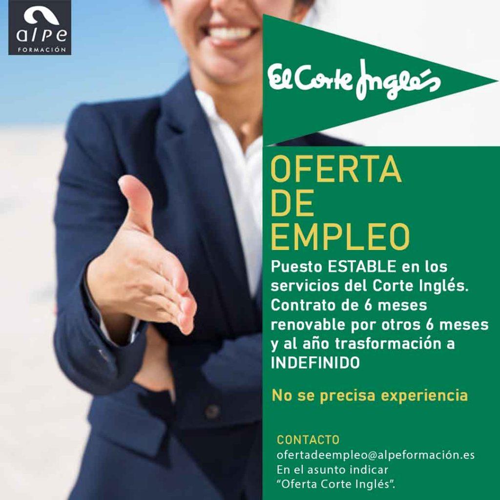 Oferta de empleo en Cantabria - Alpe Formación