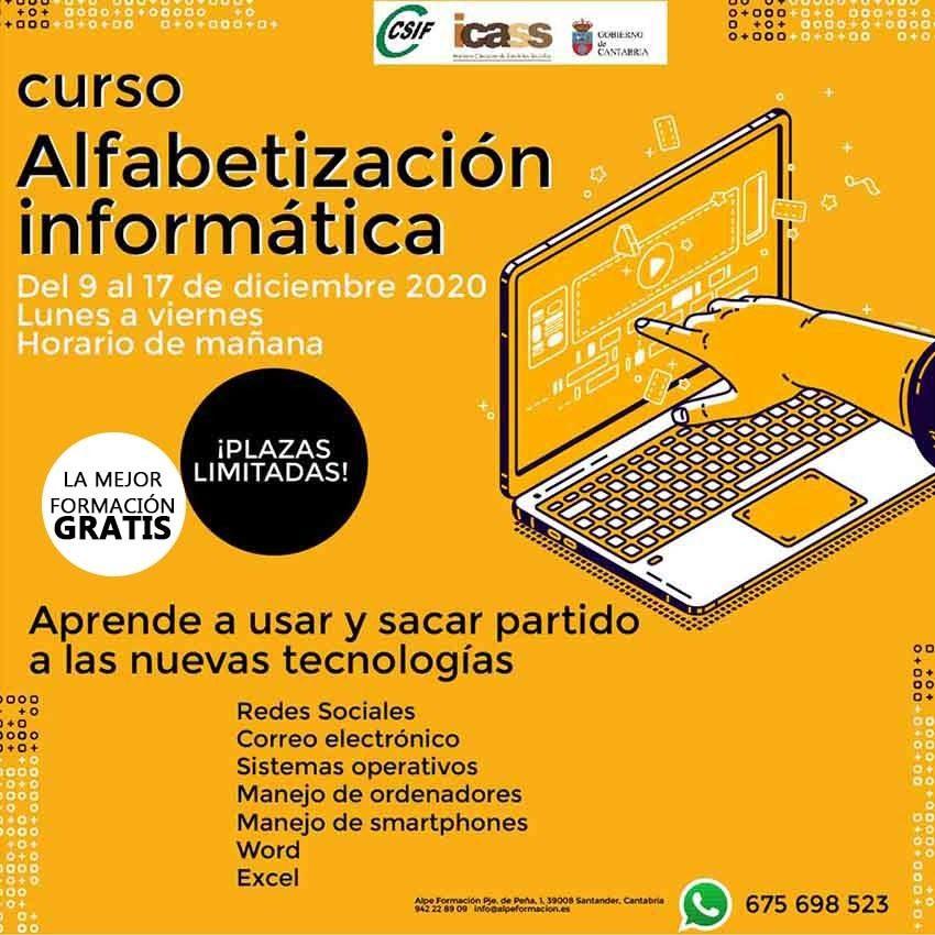 Alfabetización informática-Alpe Formación