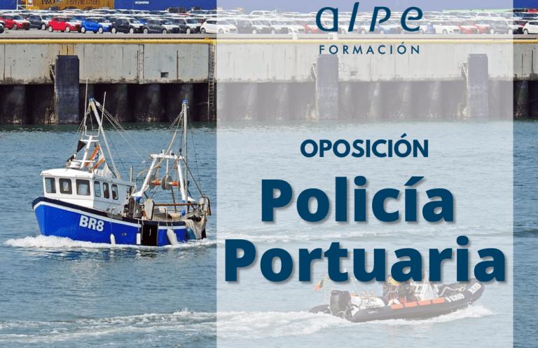 Oposición Policía Portuaria_Alpe Formación