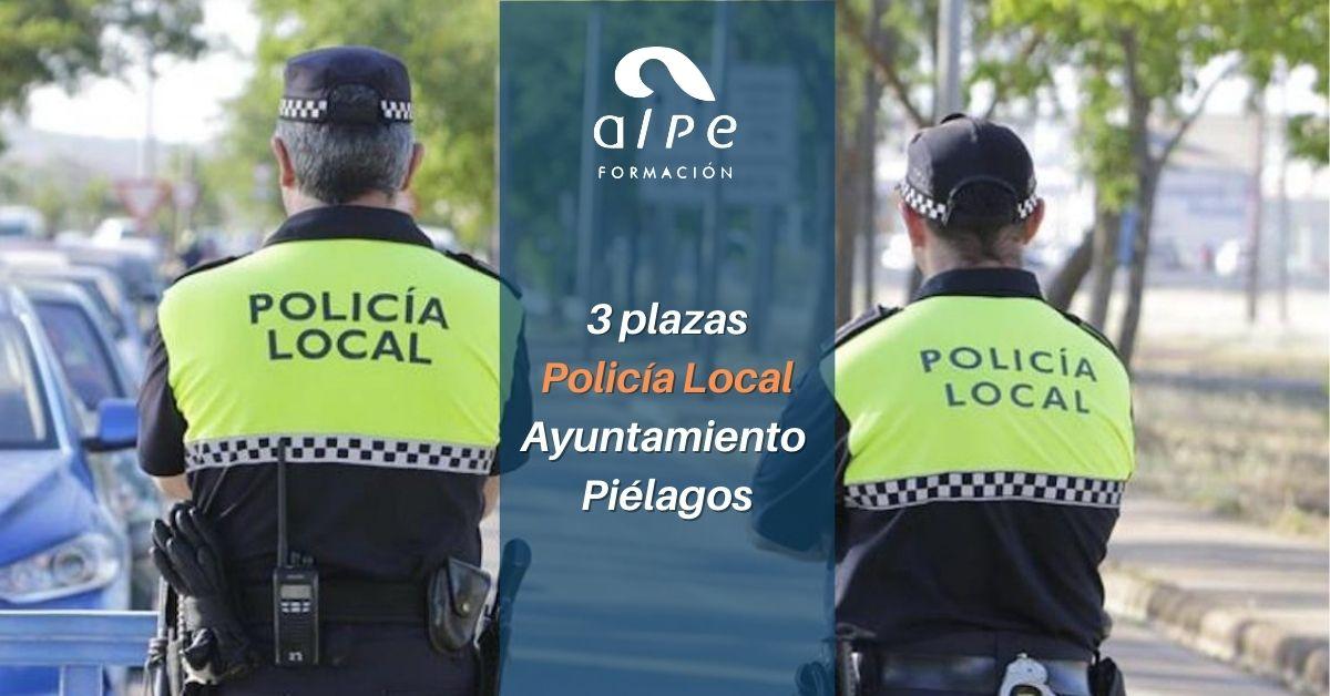 Convocadas tres plazas para Policía Local en Piélagos
