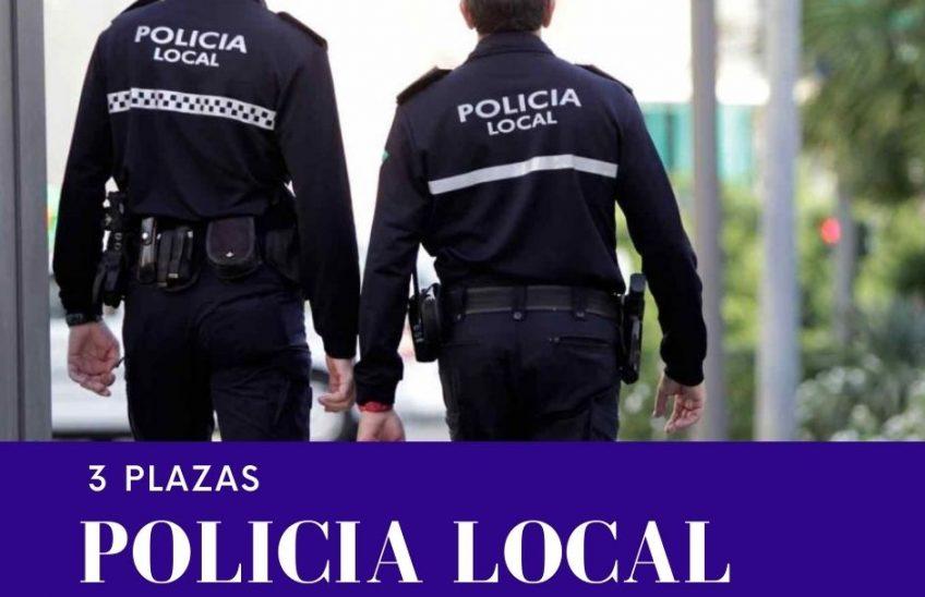 3 plazas policía local Reinosa. Alpe Formación