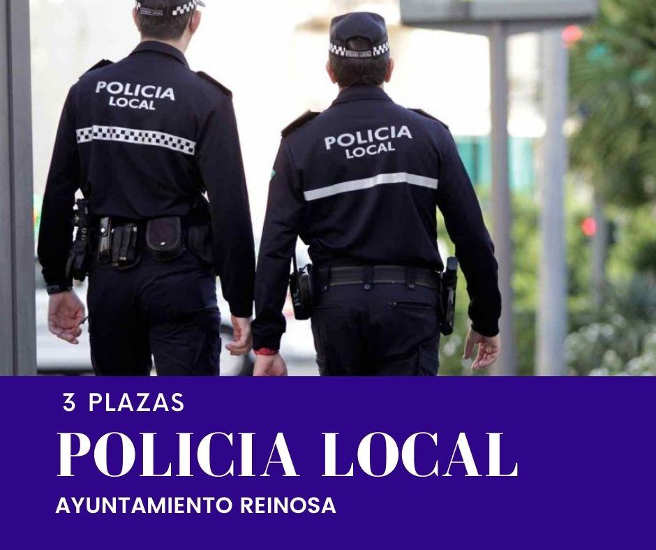 Oferta de Empleo 3 plazas Policía local Ayto Reinosa