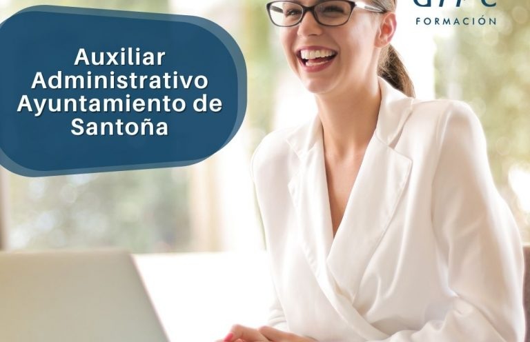 Oposición Auxiliar Administrativo Ayuntamiento de Santoña. Alpe Formación