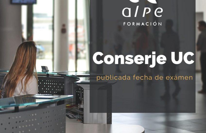 Oposiciones Conserje UC Alpe Formación