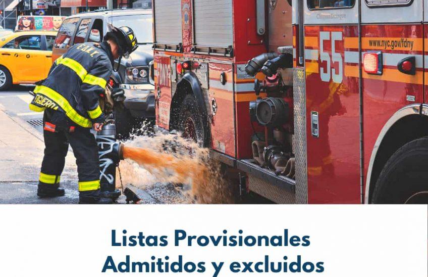 Lista provisional Bomberos Ayuntamiento Santander. Alpe Formación