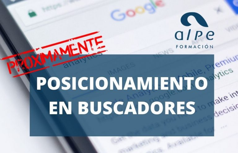 Posicionamiento en buscadores Cursos activos Cantabria