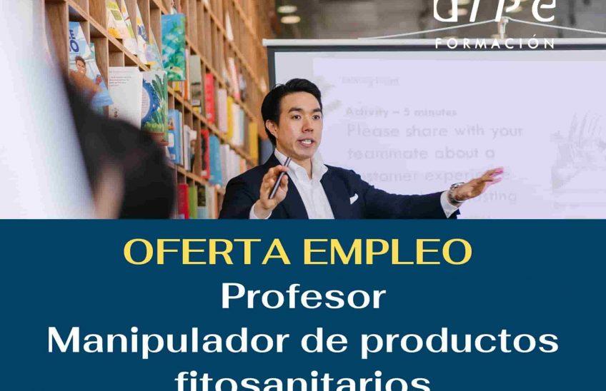 Oferta de empleo profesor. Alpe Formación