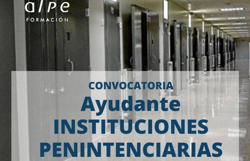 el Cuerpo de Ayudantes de Instituciones Penitenciarias. (1) (1)