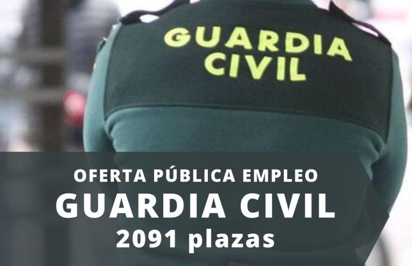oferta publica de empleo 2021 GUARDIA CIVIL _Alpe formación