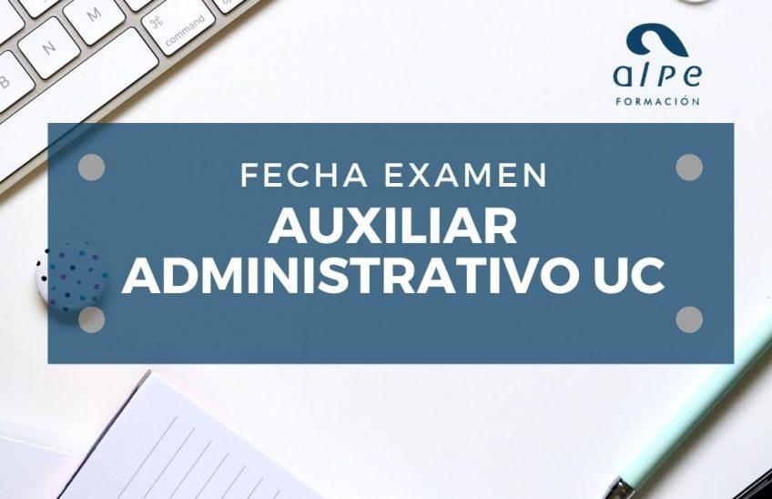 Auxiliar administrativo Universidad de Cantabria. Alpe Formación