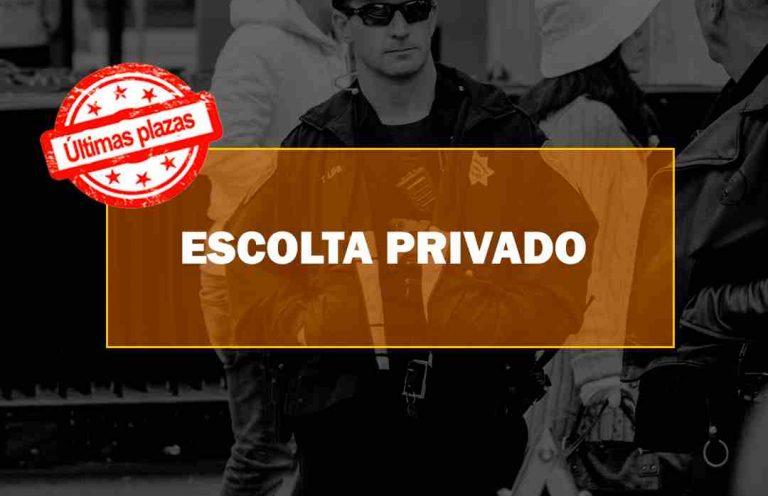Curso de Escolta privado. Oposiciones y Cursos activos Cantabria