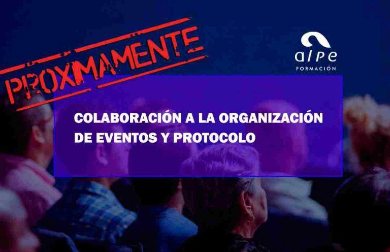 COLABORACIÓN A LA ORGANIZACIÓN DE EVENTOS Y PROTOCOLO. Oposiciones y Cursos activos Cantabria