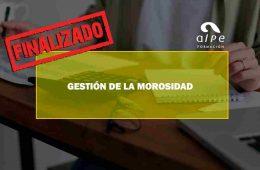 GESTIÓN DE LA MOROSIDAD. Oposiciones y Cursos activos Cantabria