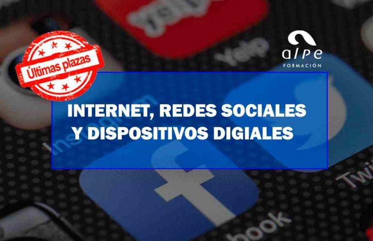 INTERNET, REDES SOCIALES Y DISPOSITIVOS DIGITALES. Oposiciones y Cursos activos Cantabria