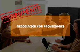 NEGOCIACIÓN CON PROVEEDORES. Oposiciones y Cursos activos Cantabria
