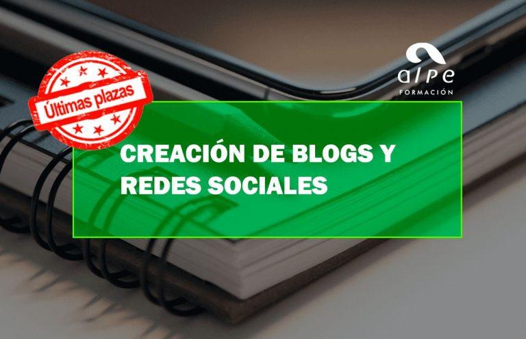 CURSO CREACIÓN DE BLOGS Y REDES SOCIALES. Oposiciones y Cursos activos Cantabria