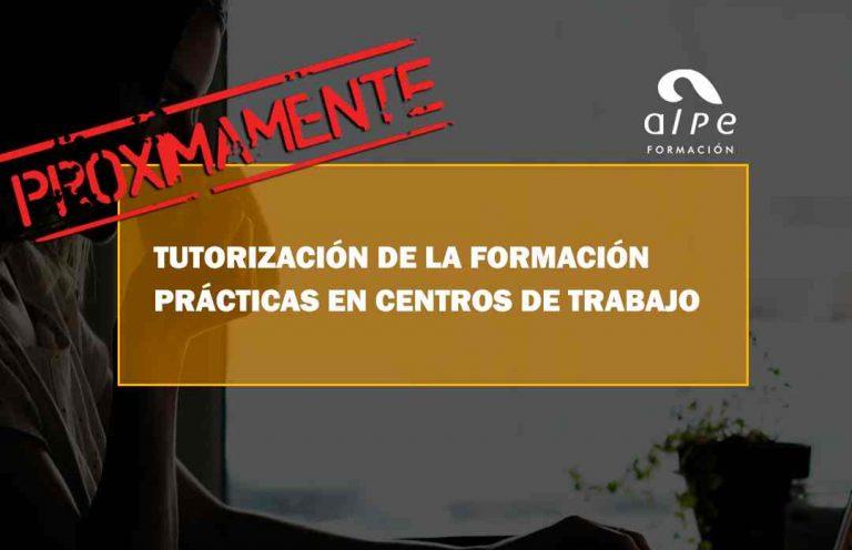 TUTORIZACIÓN DE LA FORMACIÓN PRÁCTICAS EN CENTROS DE TRABAJO. Oposiciones y Cursos activos Cantabria