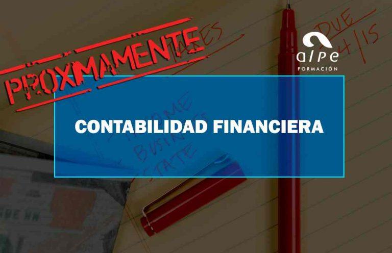 CURSO DE CONTABILIDAD FINANCIERA. Oposiciones y Cursos activos Cantabria