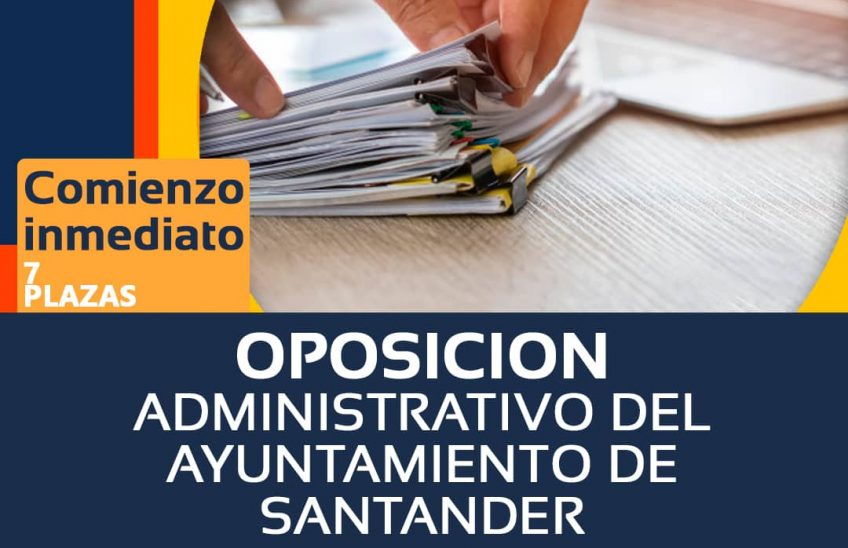 OPOSICIONES ADMINISTRATIVO AYTO SANTANDER