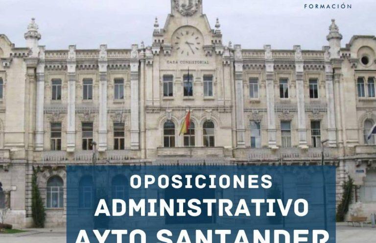 Oposiciones Administrativo Ayuntamiento de Santander