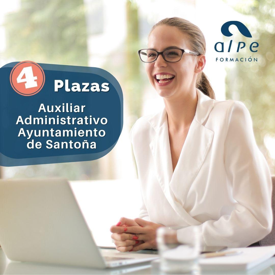 4 plazas Auxiliar Administrativo Ayuntamiento de Santoña