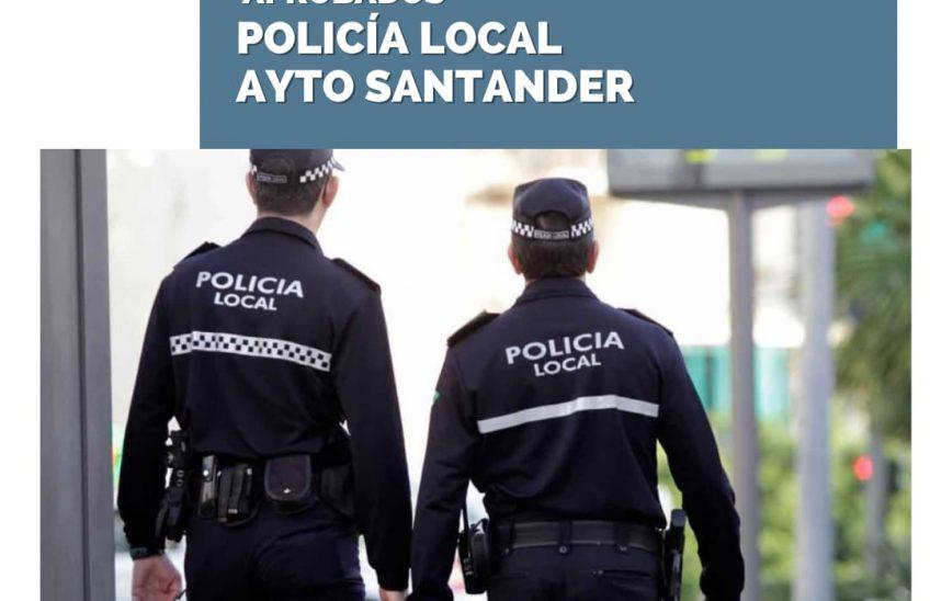Oposiciones Policía Local Ayuntamiento de Santander. Academia de oposiciones Cantabria