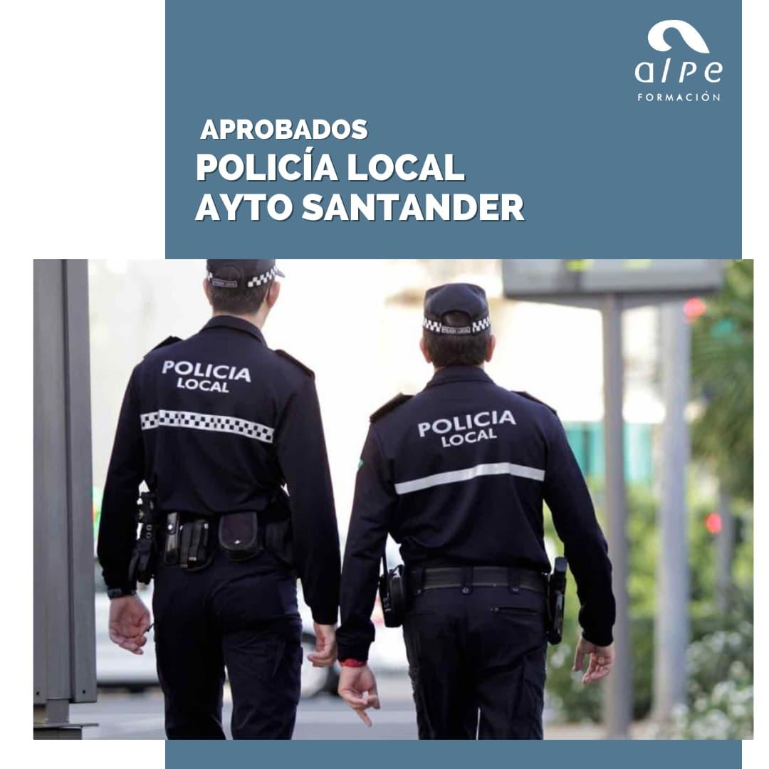 Aprobados Policía Local Ayto Santander