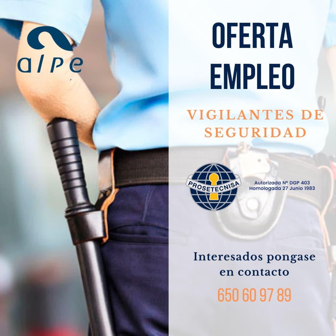 Oferta Vigilante de Seguridad