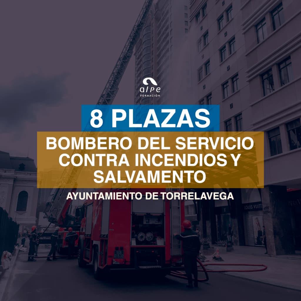 Ocho plazas de Bombero del Servicio Contra Incendios y Salvamento del Ayuntamiento de Torrelavega