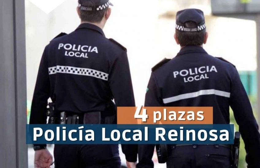 4 Plazas Policía Local Reinosa