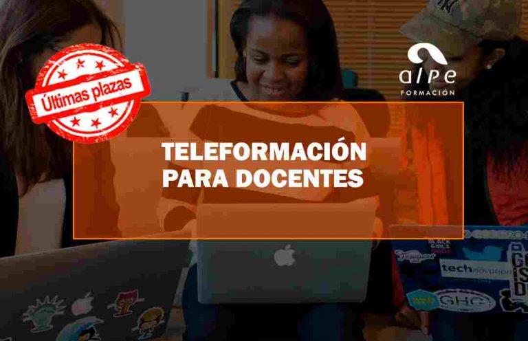 CURSO TELEFORMACIÓN PARA DOCENTES. Oposiciones y Cursos activos Cantabria