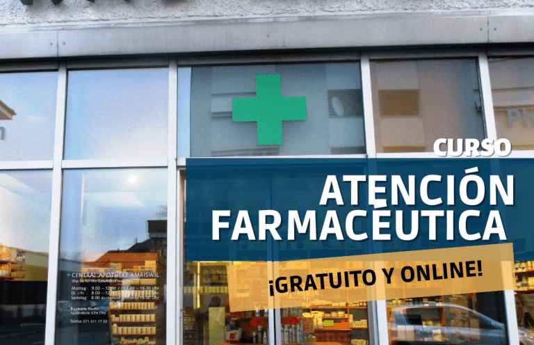curso ATENCIÓN FARMACEUTICA- Alpe Formación